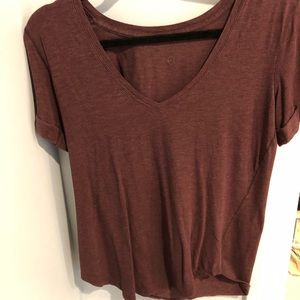 Lululemon v neck t shirt